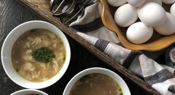 Stracciatella: Italian Wedding Soup