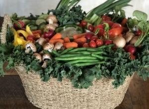 How to Make a Veggie Basket into a Conversation Piece