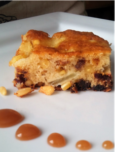 Tuscan Apple Cake with Pine Nuts