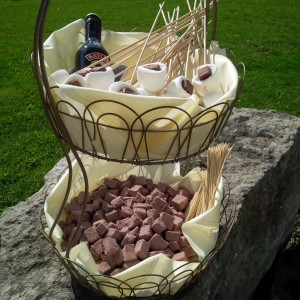 how to create a marshmallow station