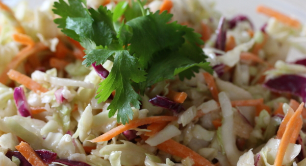 How to Make The Fastest Coleslaw Ever!