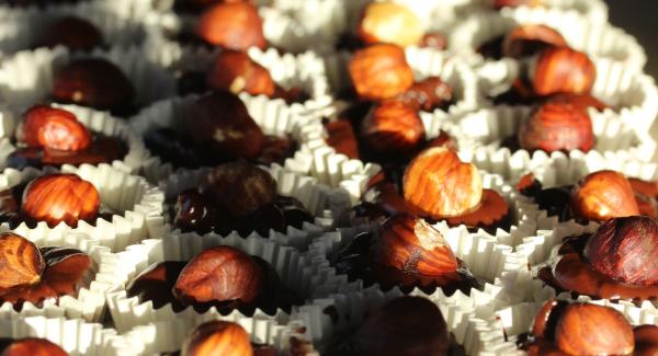 Chocolate Nutella Hazelnut Bites