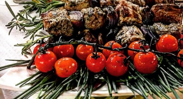 Rosemary Skewered Lamb Kebabs