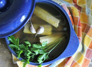 How to Make Corn Stock