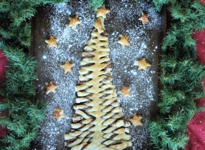 Nutella Puff Pastry Tree