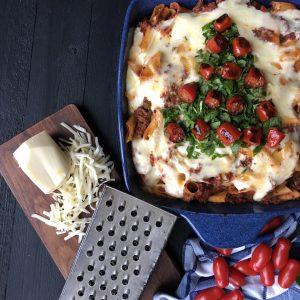 make ahead pasta al forno