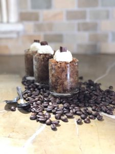 Coffee Almond Granita