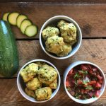 A Healthier Zucchini Fritter: Baked Zucchini Tots