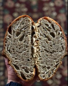 How to Make A Simple Overnight Sourdough Loaf
