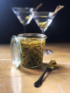 How to Make Pickled Spruce Tips