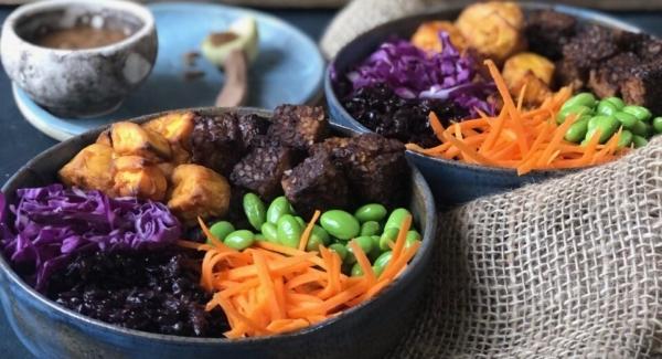 Easy Vegan Buddah Bowl